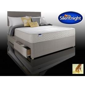Silentnight Seoul Super Kingsize Non Storage Divan Bed With Memo