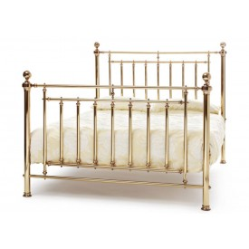 Solomon Brass Super Kingsize Bed Frame