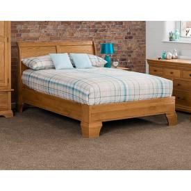 Victoria Falls Oak Bed Frame