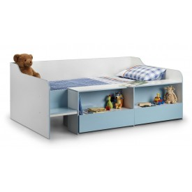 Stellar Blue Cabin Bed Low Sleeper