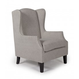 Silver Stirling Occasional Chair