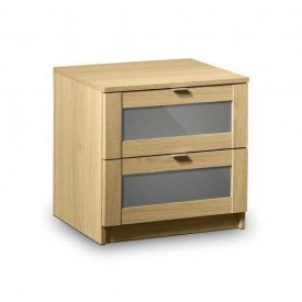Strada 2 Drawer Bedside Chest