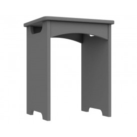 Dust Grey High Gloss Bedroom Stool