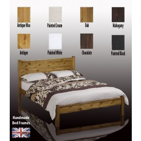 Sutton Handcrafted Super Kingsize Bed Frame