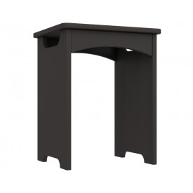 Graphite Grey High Gloss Bedroom Stool