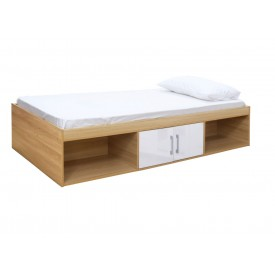 Daytona White Storage Bed