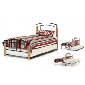 Tetras Black & Beech Guest Bed Frame