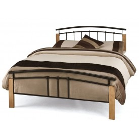 Tetras Black Kingsize Bed Frame