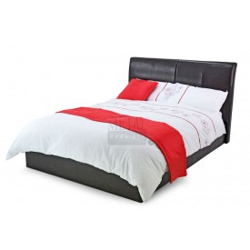 Texan Black Or Brown Double Bed Frame