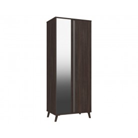 Thames 2 Door Robe Truffle Oak With Mirror