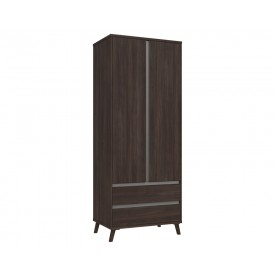 Thames 2 Door Combi Robe Truffle Oak
