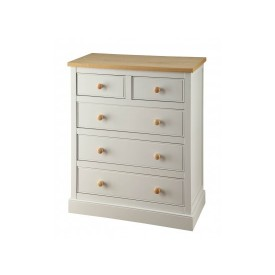 St.Austell Dove Grey 3+2 Drawer Chest
