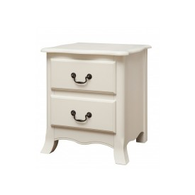 Chantelle Antique White Bedside Chest