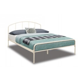 Japan Cream Double Bed Frame