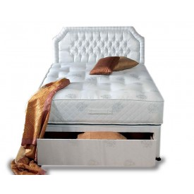 Topaz Ortho Double End Drawer Divan Bed