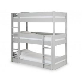 Three Tier Grey Bunk Bed