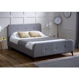 Tuscan Ash Grey Bed Frame