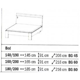 Rauch Sammy Bed Frame