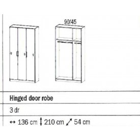 Rauch Sammy 3 Door Wardrobe