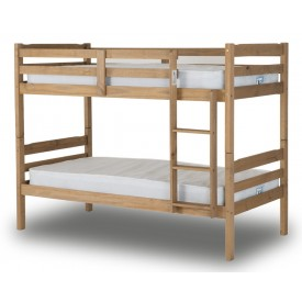 Ranch Style Waxed Pine Bunk Bed