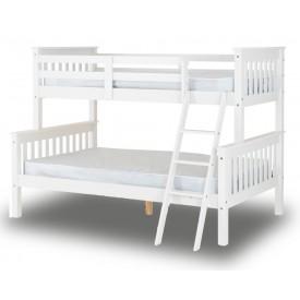 Neptuno White Triple Bunk Bed