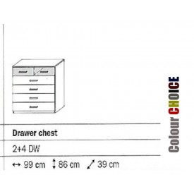 Rauch Celina 4+2 Drawer Chest