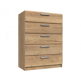 Waterford Oak 5 Drawer Chest