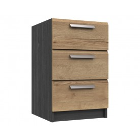 Waterford Graphite And Oak Bedside