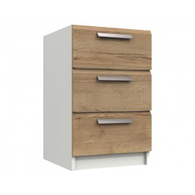 Waterford Oak And White Bedside Chest