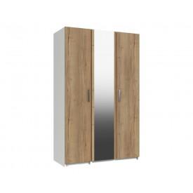 Waterford Oak And White 3 Door Wardrobe