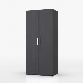 Waterfall Graphite 2 Door Wardrobe