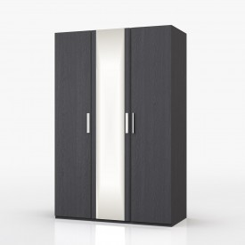 Waterfall Graphite 3 Door Wardrobe