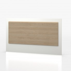 Waterfall Oak And White Headboard
