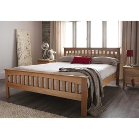 Windsor Classic Oak Kingsize Bed Frame