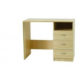 Woodgrain Single Pedestal Dressing Table