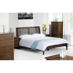 Minuet Slatted King Size Bed Frame
