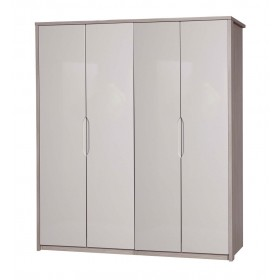 Avola Champagne With Sand Gloss 4 Door Robe