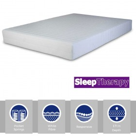 Sleeping Therapy Bronze Pocket 1000 Double Mattress
