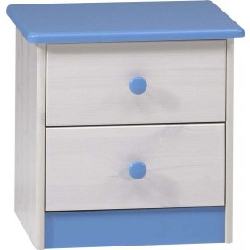Harald 2 Drawer Bedside
