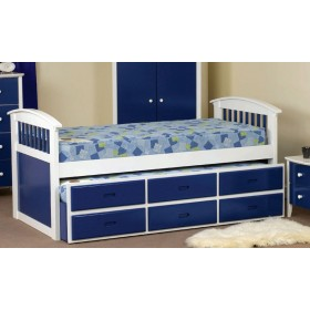 Kipling Blue Captains Bed
