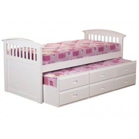 Kipling White Captains Bed