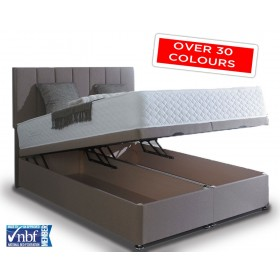 Superior Super Kingsize Ottoman End Lift Storage Divan Base