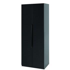 Orient Black Gloss Super Size 2 Door Robe
