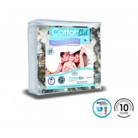 Cotton Cool Single Mattress Protector