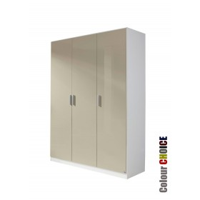 Rauch High Gloss Cello 3 Door Wardrobe