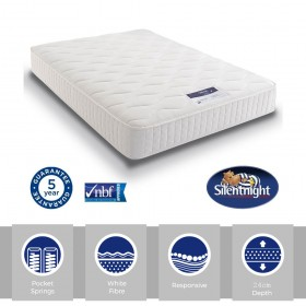 Silentnight Essentials Pocket 1000 Kingsize Mattress