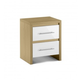 Sweden 2 Drawer Bedside
