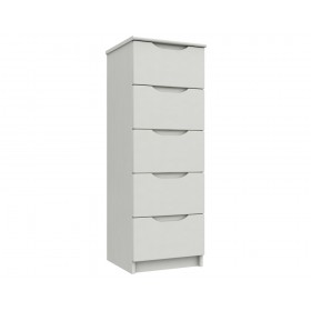 Sutton Alpine White High Gloss Tallboy