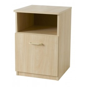 Woodgrain Bedside Locker