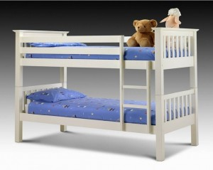 Barcelona Stone White Bunk Bed